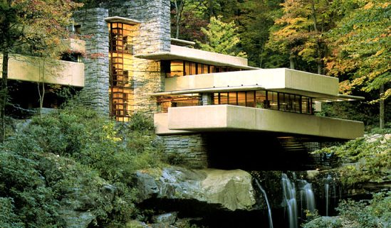 Fallingwater ~ Frank Lloyd Wright, Architect